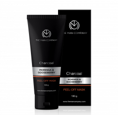 The Man Company Activated Charcoal Peel-Off Mask Moringa & Gooseberry
