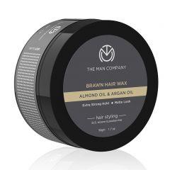 The Man Company Brawn Hair Wax with Almond & Argan Oil