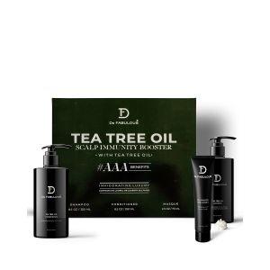 De Fabulous Tea Tree Oil Combo Box (Shampoo + Conditioner + Masque)