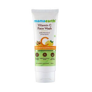 Vitamin C Face Wash with Vitamin C and Turmeric for Skin Illumination 100ml