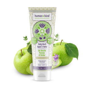 Human + Kind - Body Wash Apple and Herbs 250ml