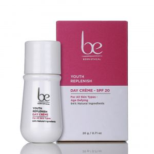 Born Ethical - Youth Replenish Day Creme SPF20 - 20gram