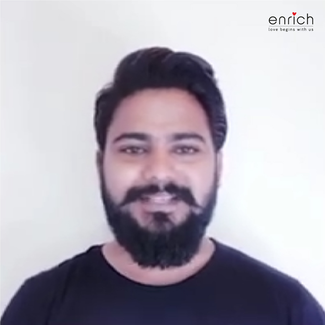 Our Hair Expert at Enrich, @coiffeur_sam is here to guide you gentlemen on grooming your beard the right way!