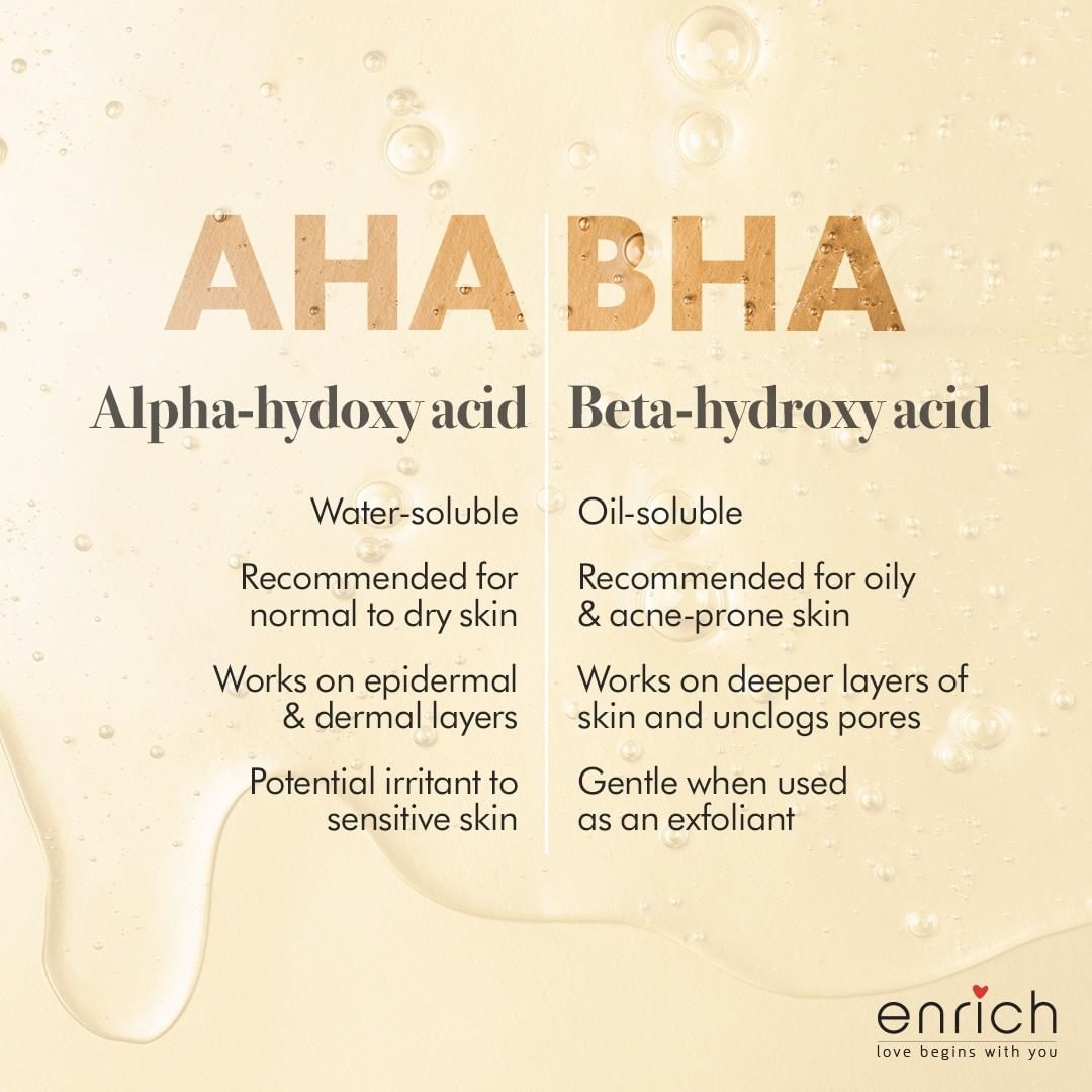 Confused about which exfoliant to use?