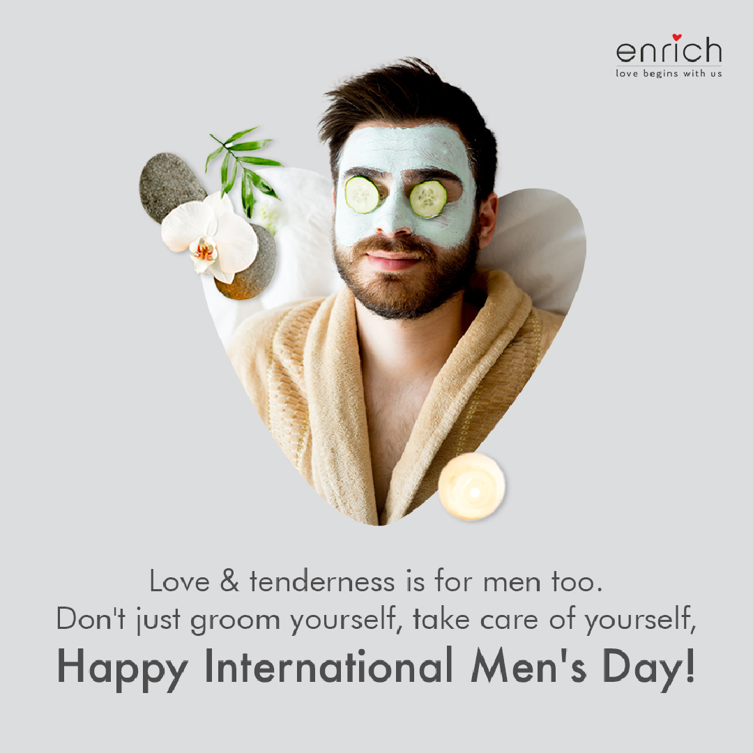This International Men's Day, we hope you take a well-deserved break for self-care. Not just to look good, but for your well-being. Our doors are open!