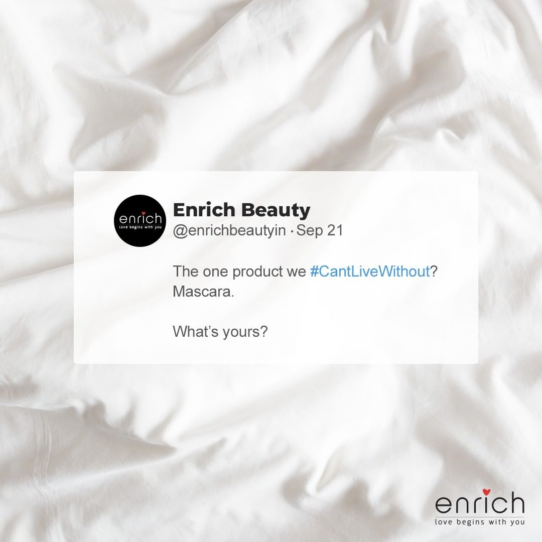 What's a beauty product you #CantLiveWithout?
