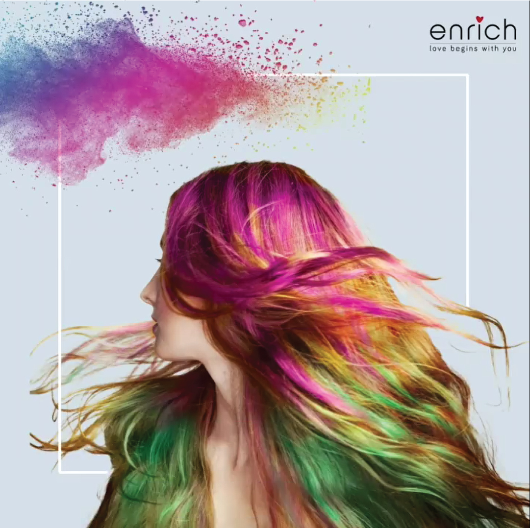 Enrich is wishing its patrons  Happy Holi as we admire the many colourful ways to channel the vibrant spirit of the festival! We can't wait to see all your bright looks, soaked in full colour. How are you wearing the colours of Holi this year?