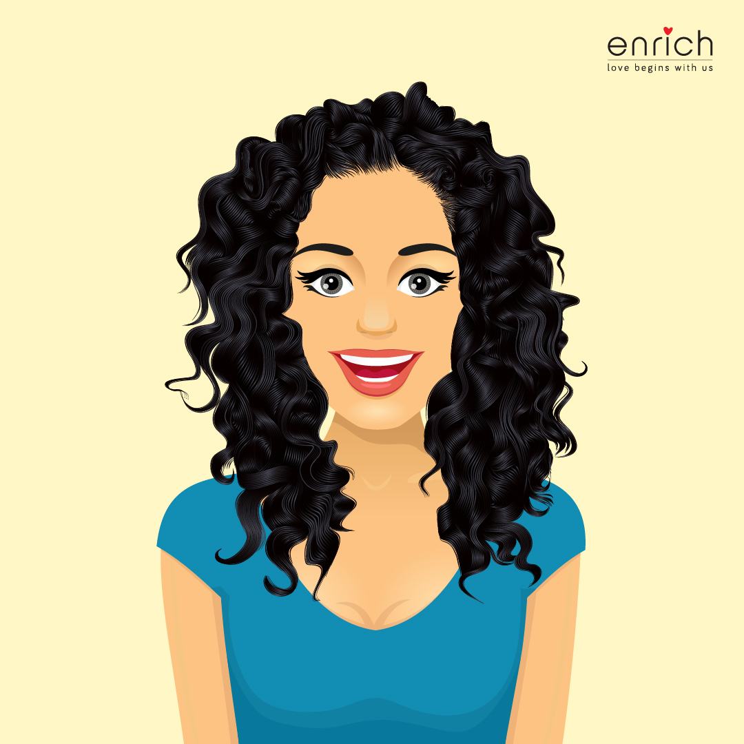 Hairstyles for the lovely curls