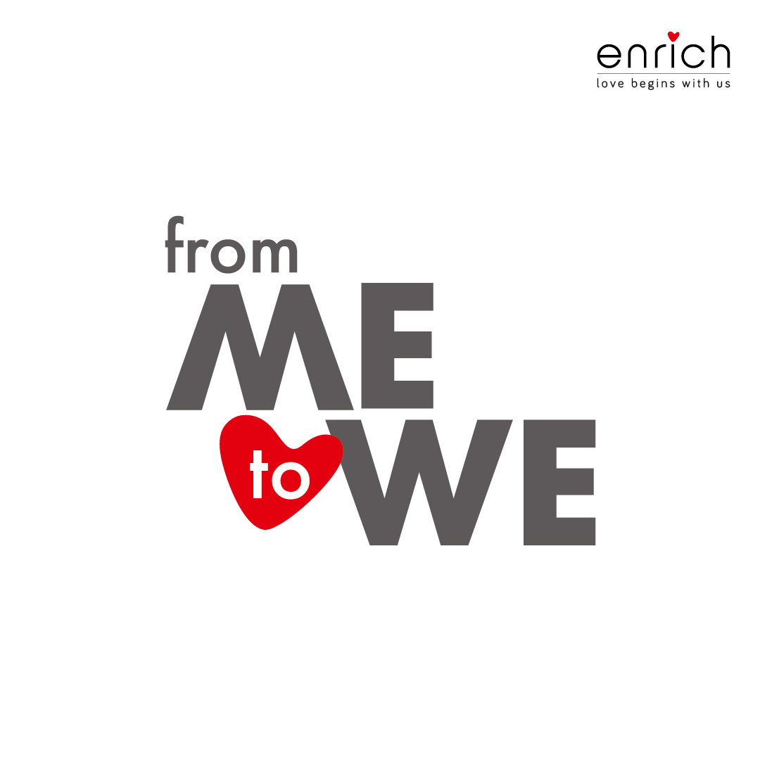 Me to we – Love begins with us