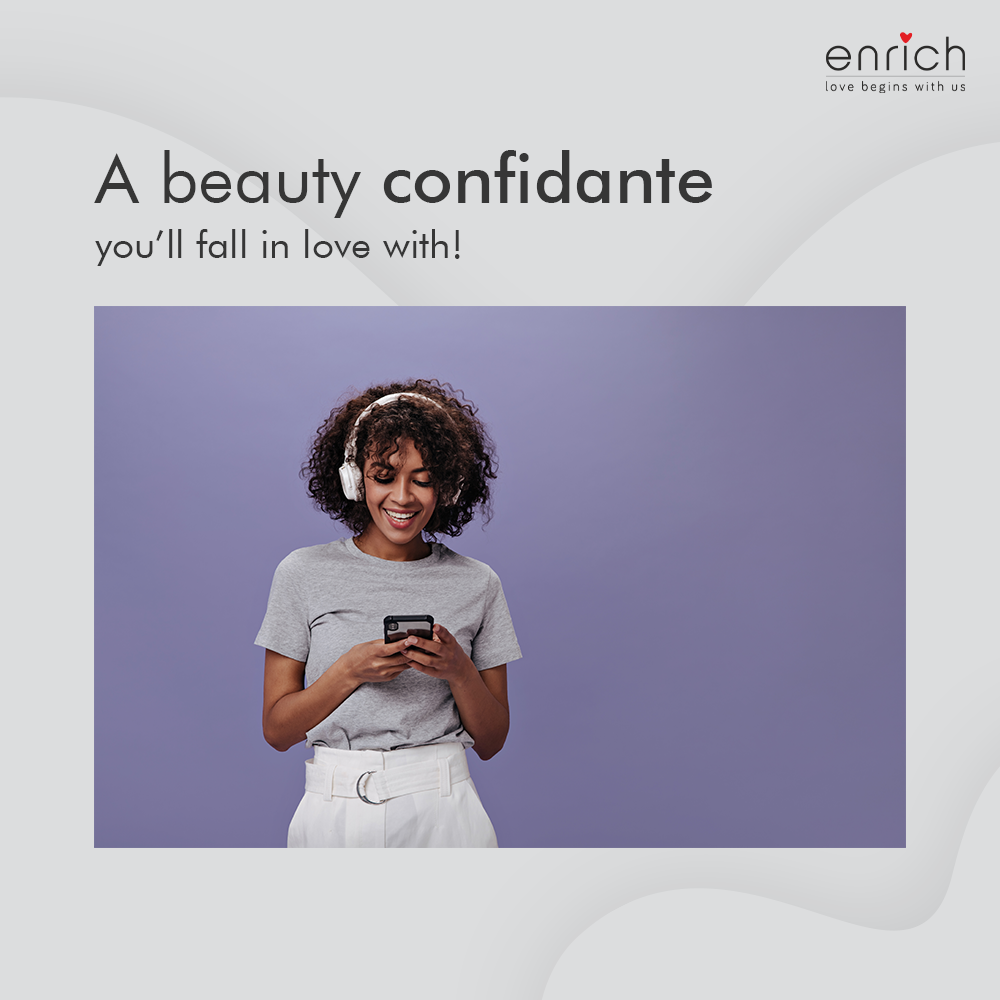 Find the perfect beauty confidante at your fingertips.  .