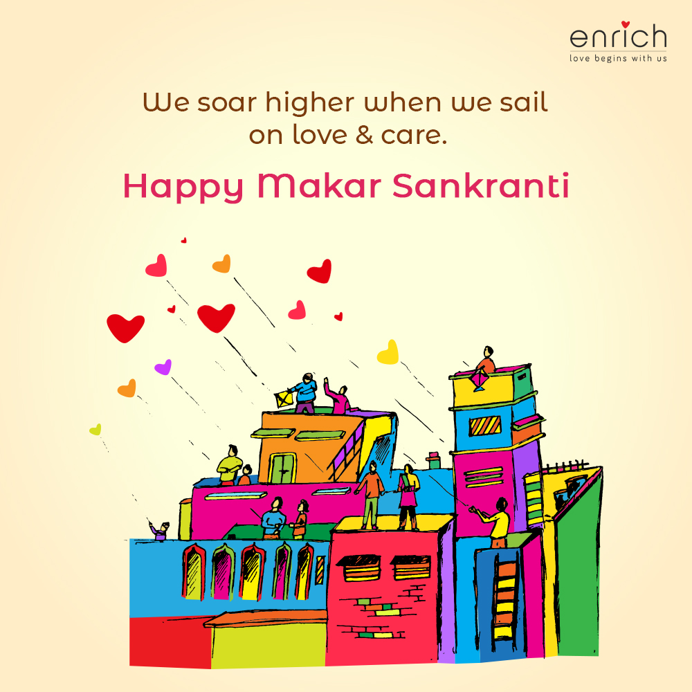 This Makar Sankranti, we wish you all the joy, togetherness and plentitude that this turn of the season promises!