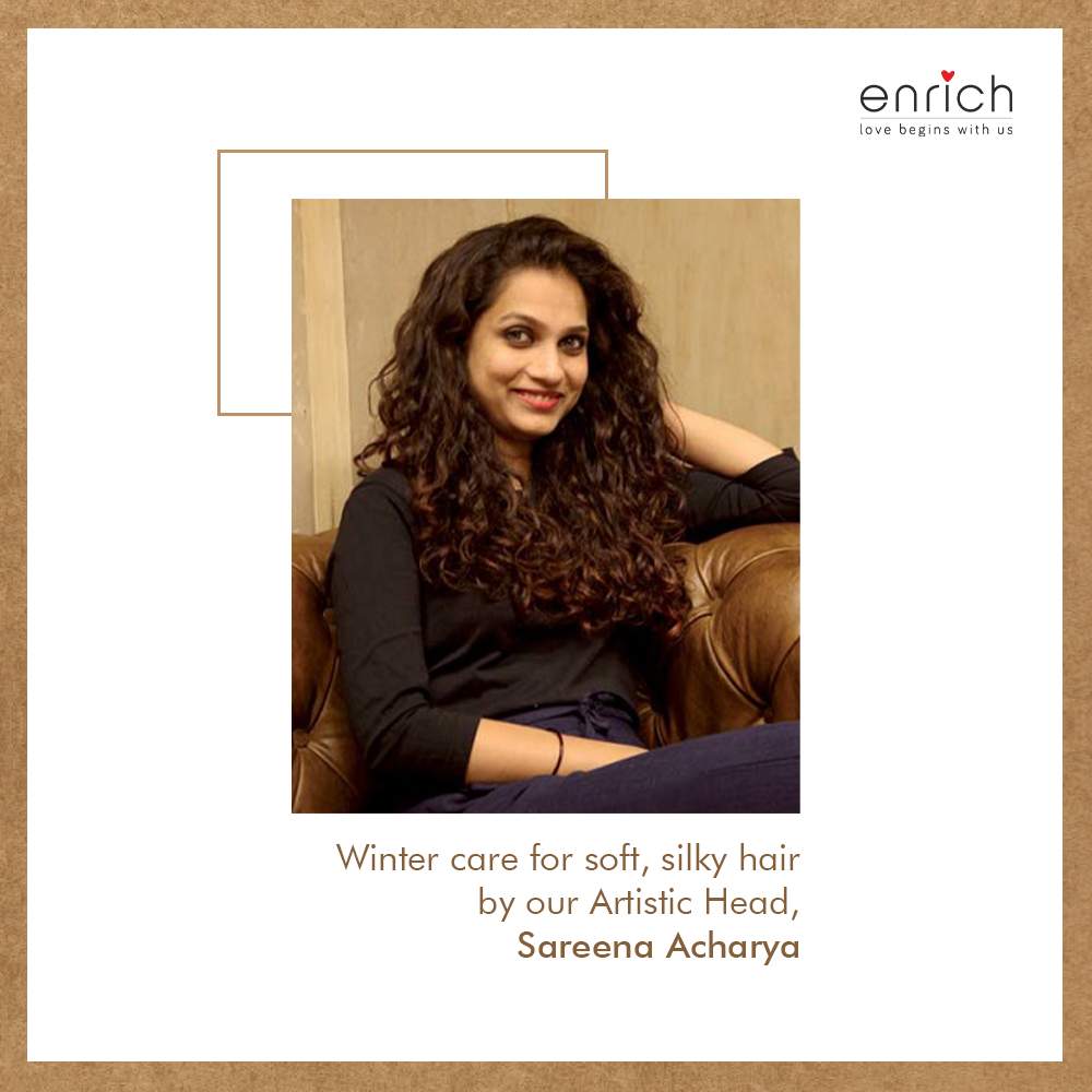 Our hair expert and artistic head, @sareenaacharya  picks out the top hair products that are a must for your winter hair-care regimen.