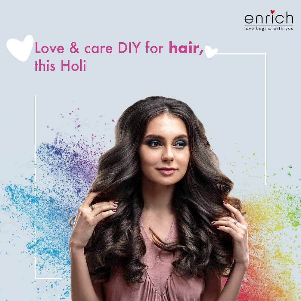 Let your hair down in the festival of colours with these foolproof haircare tips. So that even after the celebrations, your hair feels soft, nourished, and shiny!