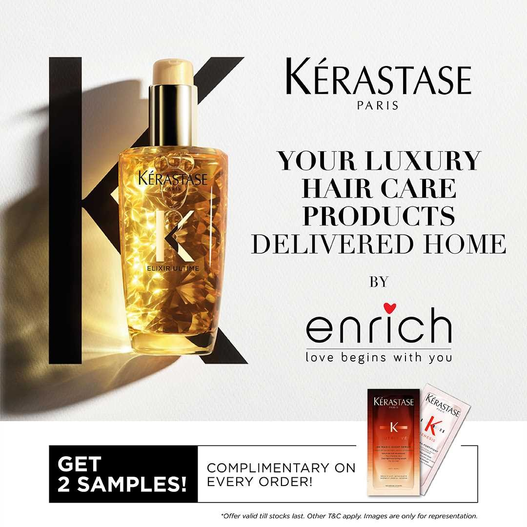 When you need luxury haircare delivered to you, we are at your service!
