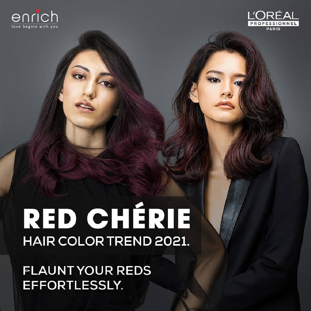 From subtle to bold we have got you covered. Set the trend and paint it red. Vist Enrich and let our hairstylists personalise your look.